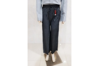 SOFT JEANS PALAZZO WITH POCKET [9008]