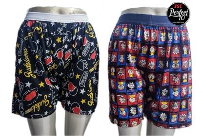 FST 100% Cotton Plus Size S-3XL Printed Short Pants