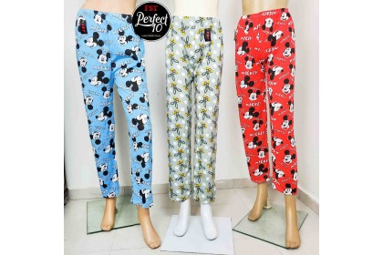 FST Full Print Design Long Pants Pyjamas pants / Seluar Panjang Bunga Kartun [SP668]