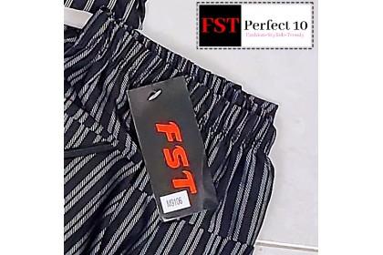 FST Slim Pocket Zip Line Long Pant / Seluar Belang Poket Zip [M9106]