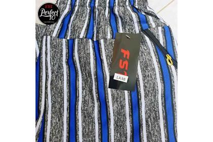 FST Slim Pocket Zip Line Long Pant / Seluar Belang Poket Zip [LA98]