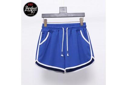 FST Women's Slim Fitness Sexy High Waist Casual Running Sports Shorts Pant [M0504]