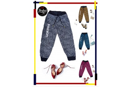 FST Soft Long Pants With Pockets and Front Rope / Seluar Panjang Kaki Kecil Poket Dan Tali [S902]