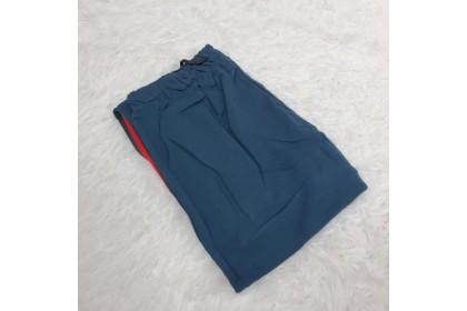 BORONG FST Korean Fashion Women Seluar LONG PANTS Long Trousers Loose Casual Stripe Pants [M093]