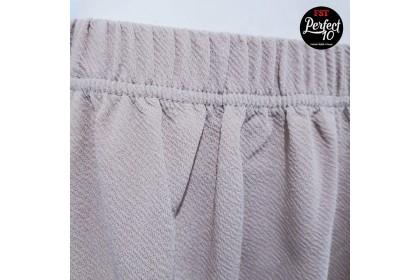 PLUS SIZE PALAZO PALAZZO FST Muslimah Seluar Labuh Women's Stretchable Long Trousers Straight Cut Palazzo MURAH NEW [1050-Plain]